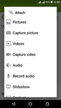 Acer Liquid Zest 4G Plus DualSim - MMS - Sending pictures - Step 13