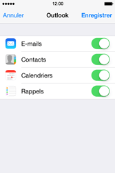 Apple iPhone 4 - E-mails - Ajouter ou modifier votre compte Outlook - Étape 8