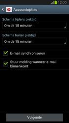 Samsung N7100 Galaxy Note II - E-mail - handmatig instellen - Stap 12