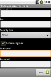 Alcatel OT-991 Smart - Email - Manual configuration POP3 with SMTP verification - Step 16
