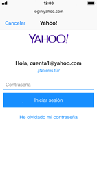 Apple iPhone 5s - iOS 11 - E-mail - Configurar Yahoo! - Paso 7