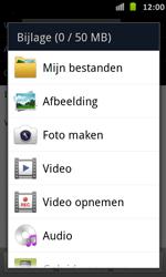 Samsung I9070 Galaxy S Advance - E-mail - Hoe te versturen - Stap 11