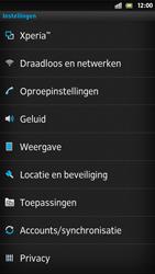 Sony LT26i Xperia S - Internet - aan- of uitzetten - Stap 4