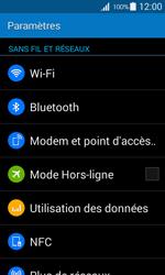 Samsung Galaxy Ace 4 - Internet et connexion - Accéder au réseau Wi-Fi - Étape 4