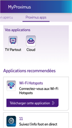 Apple iPhone 4s iOS 8 - Applications - MyProximus - Étape 21