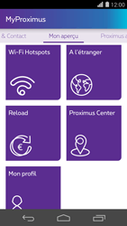 Huawei Ascend P7 - Applications - MyProximus - Étape 21