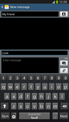 Samsung I9205 Galaxy Mega 6-3 LTE - Mms - Sending a picture message - Step 11