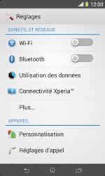 Sony D2005 Xperia E1 - Wifi - configuration manuelle - Étape 3