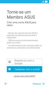 Asus Zenfone 3 - Primeiros passos - Como ativar seu aparelho - Etapa 17