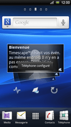 Sony Ericsson Xperia Ray - MMS - configuration automatique - Étape 8