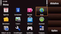 Nokia N97 Mini - Internet - Internetten - Stap 2