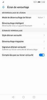 Huawei P20 lite - Sécuriser votre mobile - Activer le code de verrouillage - Étape 5