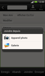 HTC T328e Desire X - E-mail - Envoi d