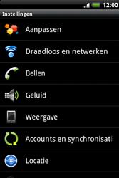 HTC A510e Wildfire S - Buitenland - Bellen, sms en internet - Stap 5
