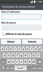 LG F70 - E-mails - Ajouter ou modifier un compte e-mail - Étape 11