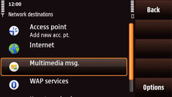 Nokia N97 Mini - MMS - Manual configuration - Step 6