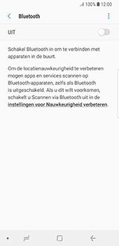 Samsung Galaxy S8 - Android Oreo (SM-G950F) - Bluetooth - Aanzetten - Stap 5