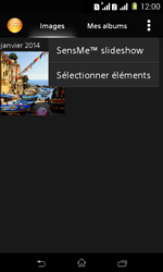Sony Xpéria E1 Dual - Photos, vidéos, musique - Envoyer une photo via Bluetooth - Étape 5