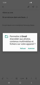 Samsung Galaxy S10 Plus - E-mail - envoyer un e-mail - Étape 13