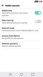 LG K10 2017 - Internet - Manual configuration - Step 5