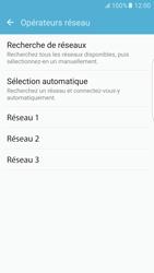 Samsung Samsung G925 Galaxy S6 Edge (Android M) - Réseau - Sélection manuelle du réseau - Étape 8