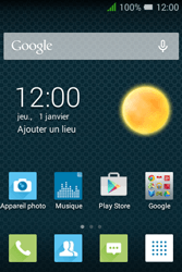 "Alcatel Pixi 3 - 3.5"" - E-mail - Configurer l"