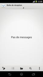 Sony Xpéria Z1 - E-mails - Ajouter ou modifier un compte e-mail - Étape 4