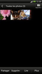 HTC One S - Photos, vidéos, musique - Envoyer une photo via Bluetooth - Étape 5
