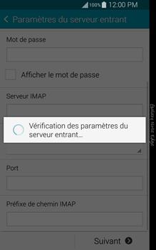 Samsung N915FY Galaxy Note Edge - E-mail - Configuration manuelle - Étape 11