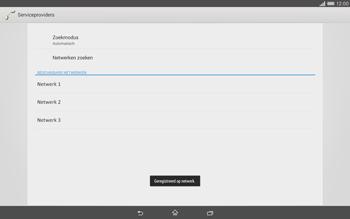 Sony Xperia Tablet Z2 (SGP521) - Netwerk - gebruik in het buitenland - Stap 12