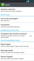 LG P880 Optimus 4X HD - Messagerie vocale - Configuration manuelle - Étape 5