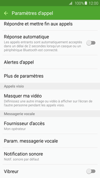 Samsung G928F Galaxy S6 Edge + - Messagerie vocale - Configuration manuelle - Étape 6