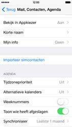 Apple iPhone 5c (Model A1507) met iOS 8 - Contacten en data - Contacten kopiëren van SIM naar toestel - Stap 4