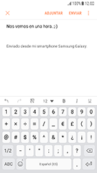 Samsung Galaxy J5 (2017) - E-mail - Escribir y enviar un correo electrónico - Paso 11