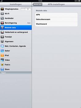 Apple iPad - Internet - Handmatig instellen - Stap 4