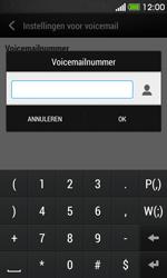 HTC Desire 500 - Voicemail - handmatig instellen - Stap 7