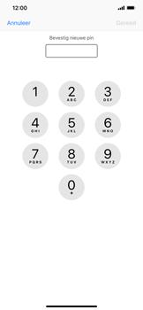Apple iPhone XS Max - Beveiliging - pas de pincode voor je simkaart aan - Stap 10