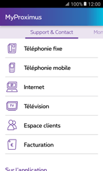 Samsung Galaxy Xcover 3 VE - Applications - MyProximus - Étape 21