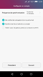 Huawei Y6 II Compact - E-mail - Configuration manuelle - Étape 18