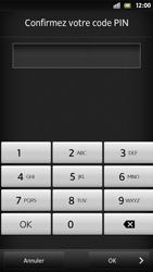 Sony Xpéria S - Sécuriser votre mobile - Activer le code de verrouillage - Étape 10