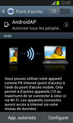 Samsung Galaxy S2 - Internet et connexion - Partager votre connexion en Wi-Fi - Étape 7