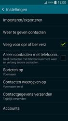 Samsung G900F Galaxy S5 - Contacten en data - Contacten kopiëren van toestel naar SIM - Stap 7
