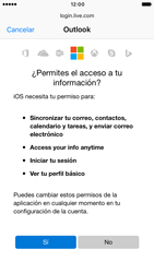 Apple iPhone 6 iOS 10 - E-mail - Configurar Outlook.com - Paso 7