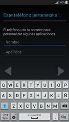 Samsung Galaxy A3 - Primeros pasos - Activar el equipo - Paso 11