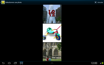 Samsung P5100 Galaxy Tab 2 10-1 - MMS - envoi d'images - Étape 11