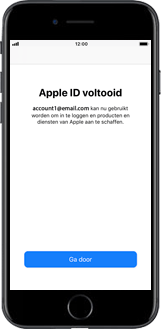 Apple iPhone 8 Plus (Model A1897) - Applicaties - Account aanmaken - Stap 20