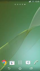 Sony Xpéria Z3 - Applications - Personnaliser l