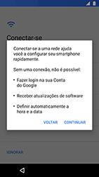 Motorola Moto X4 - Primeiros passos - Como ativar seu aparelho - Etapa 8