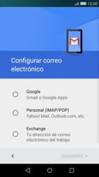 Huawei P8 Lite - E-mail - Configurar Gmail - Paso 7