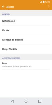 LG G6 - Mensajería - Configurar el equipo para mensajes de texto - Paso 5